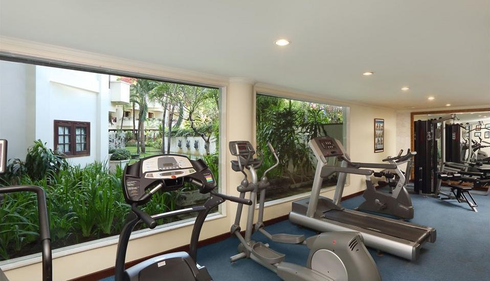 Grand Mirage Resort Bali - Gym (high)