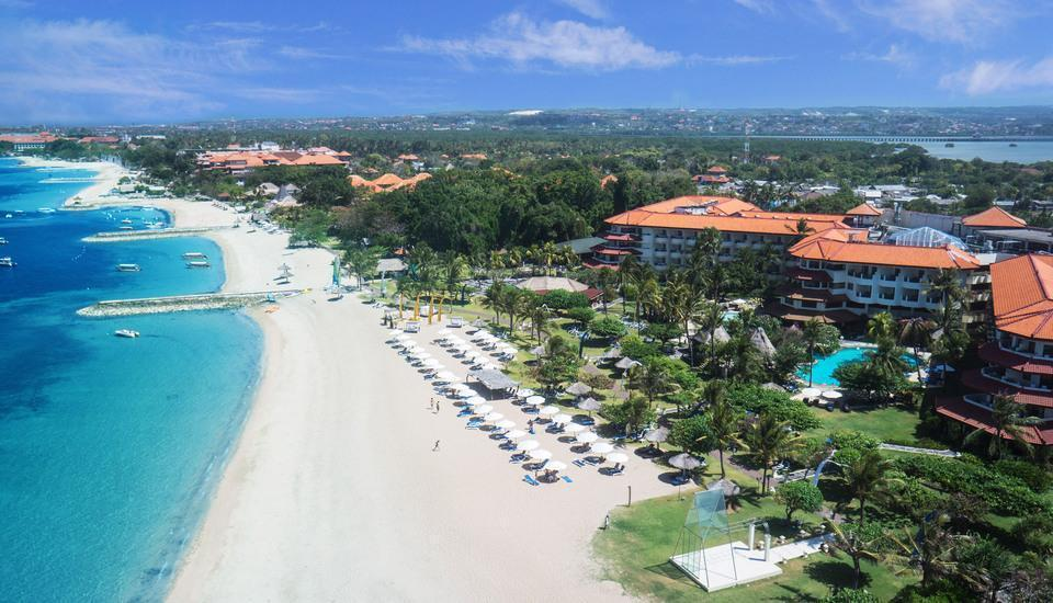 Grand Mirage Resort Bali - Areal View