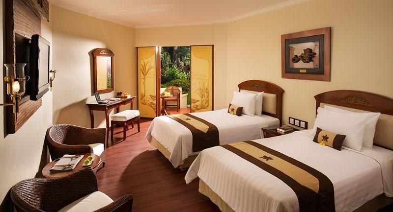 Grand Mirage Resort Bali - Kamar Deluxe dengan pemandangan taman - twin bed