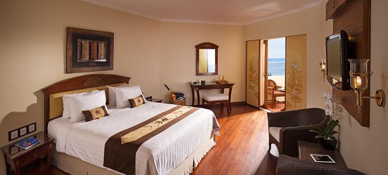 Grand Mirage Resort Bali - Kamar deluxe dengan pemandangan laut