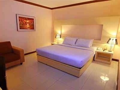 The Aliga Hotel Padang - Bedroom