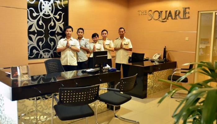 The Square Surabaya - front office