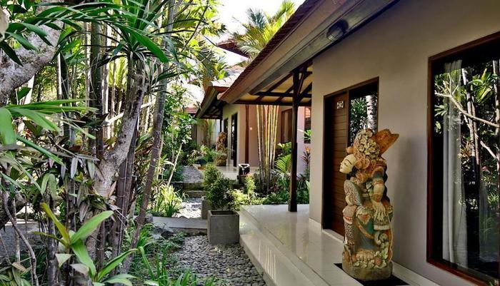 Taman Harum Cottages Bali - GARDEN TERRACE