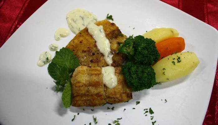 Grand Orchid Solo - Dori Fish With Cheese Sauce