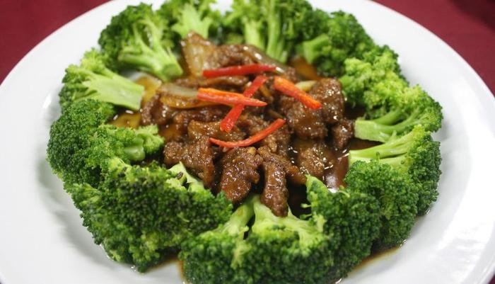 Grand Orchid Solo - Broccoli with Beef