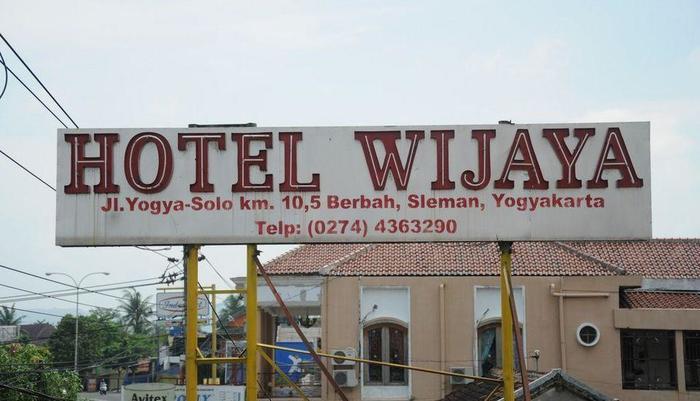 Wijaya Hotel Yogyakarta - Front View