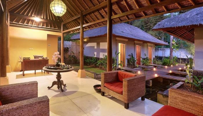 Nirwana Resort Bali - Reception Spa