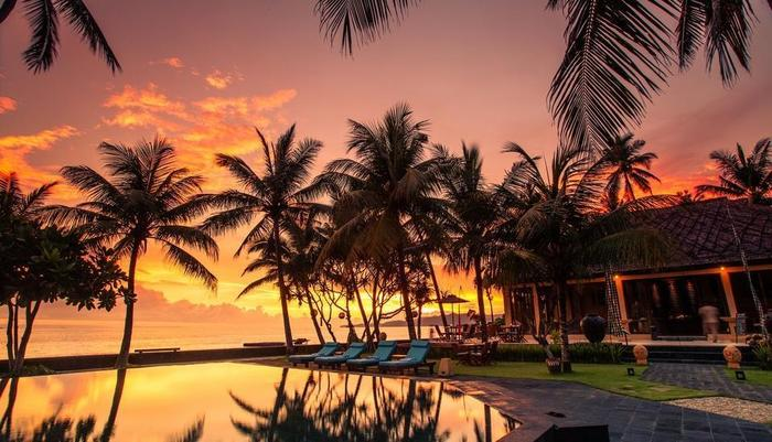 Nirwana Resort Bali - Sunset