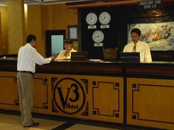 V3 Hotel Surabaya - Front Office Counter