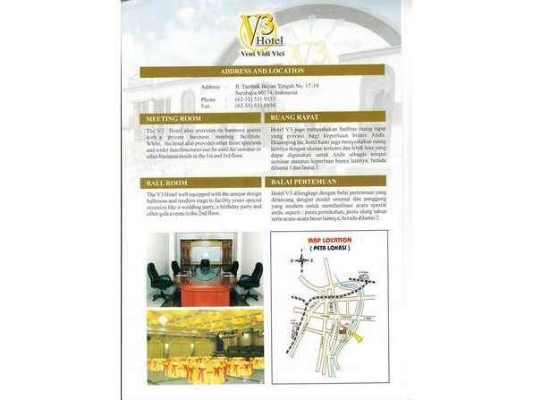 V3 Hotel Surabaya - V3 Map 2