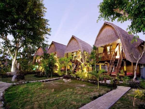 Lotus Garden Huts Bali - Appearance