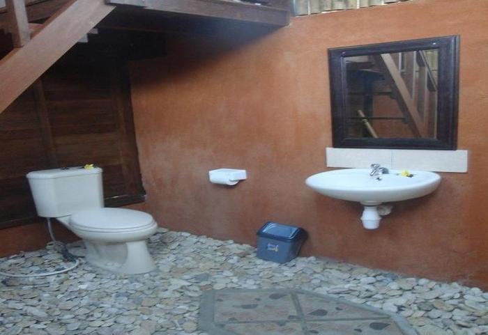 Lotus Garden Huts Bali - Bathroom