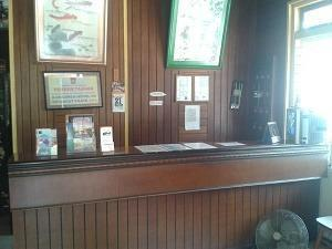 Wisma Mutiara Padang - Receptionist Desk