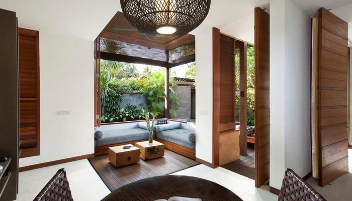 The Elysian Seminyak - Living and Dining room