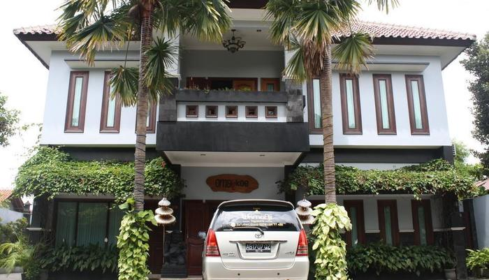 OmahKoe Hotel Yogyakarta - Lobby Entrance