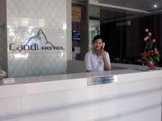Candi Hotel Medan - Reception