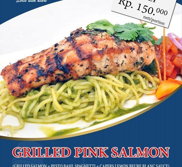 Savoy Homan Bandung - Grilled Pink Salmon