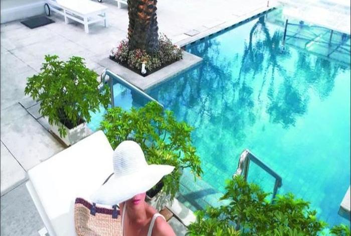 Hotel Gran Mahakam Jakarta - Kolam Renang