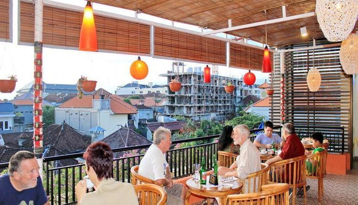 Manggar Indonesia Hotel Bali - Sunset Lounge