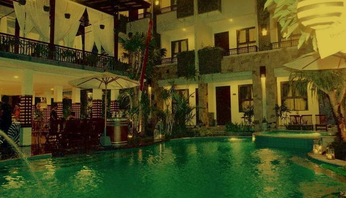 Manggar Indonesia Hotel Bali - Evening time