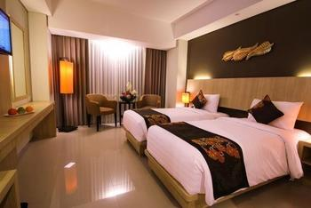 The Kana Kuta Hotel Bali - Deluxe Room with Buffet Breakfast Great Promotion Discount 52%