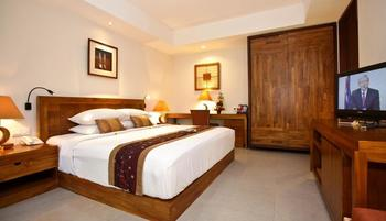 Rama Garden Hotel Bali - Deluxe Studio Pool Access Room Only (Double/Twin) 1st Floor Special Promo 40% OFF
