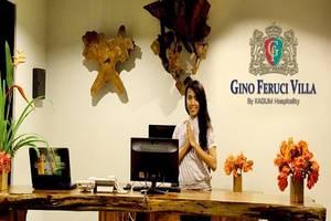 Gino Feruci Lovina - Receptionist