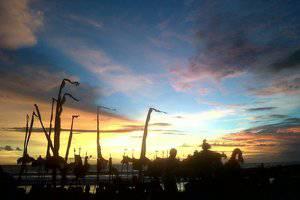 Soka Indah Bali - Sun set of Soka Indah
