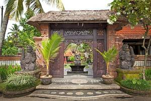 Artini 3 Cottages Bali - Front Gate
