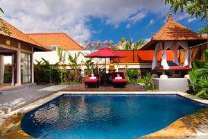 The Awan Villas Balli - Swimming Pool