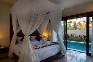The Awan Villas Balli - Guest Room
