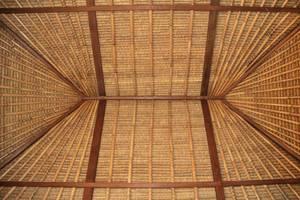 Balangan Cottage Bali - Roof of Bungalow