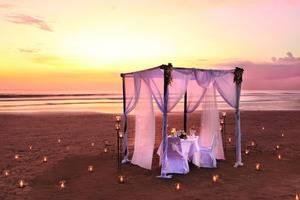 Bali Mandira Beach Resort & Spa Bali - Romantic Dinner on the beach