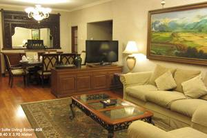 Grand Orchid Solo - President Suite Living Room
