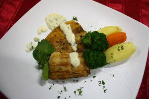 Grand Orchid Solo - Dori Fish With Cheese Sauce