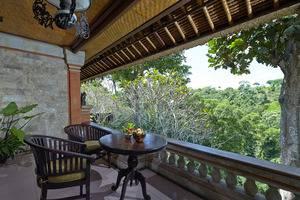 Tjampuhan Hotel Ubud - Terrace