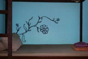 Venezia Garden Yogyakarta - A bed in dormitory room (bunk bed)