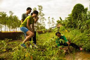 Bhuwana Ubud Hotel Bali - Harvesting