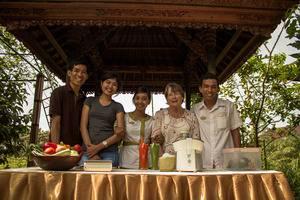 Bhuwana Ubud Hotel Bali - Juicing Class