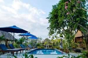 Lotus Garden Huts Bali - Swimming Pool