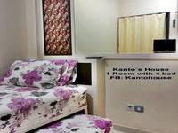 Kantos Guest House Jakarta Guest room