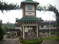 Nuansa Maninjau Resort Hotel Padang Entrance