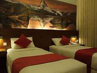 Lovender Guest House Malang Junior Twin Room with Brekafast Regular Plan