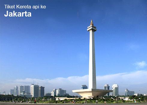 Tiket Kereta Api ke Jakarta