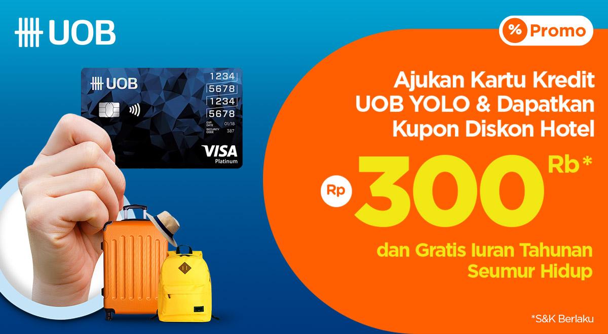 Ajukan Kartu Kredit Uob Yolo Card Di Pegipegi Dan Dapatkan Kupon Diskon Hotel Rp300 000