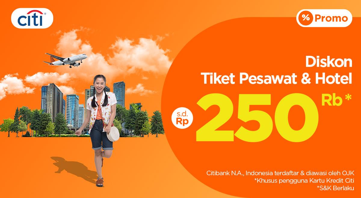 Nikmati Diskon Hotel Hingga Rp120 000 Spesial Dari Citibank Setiap Hari Kamis Sabtu