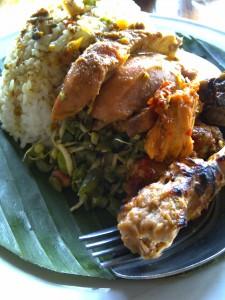 Nasi ayam Bu Mangku