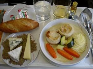 Air France Meal