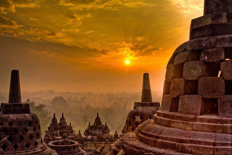 Foto 3 Sunrise Di Candi Borobudur