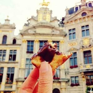 Wafel Belgia di Brussels, Belgia
